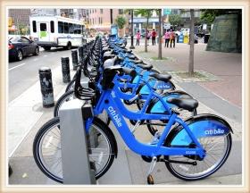 【star8拍攝】纽约市的單車計
