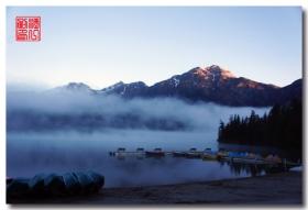 《原创摄影》:湖光山色落基行 - 双湖小镇