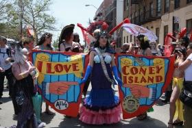 康尼岛上Mermaids!