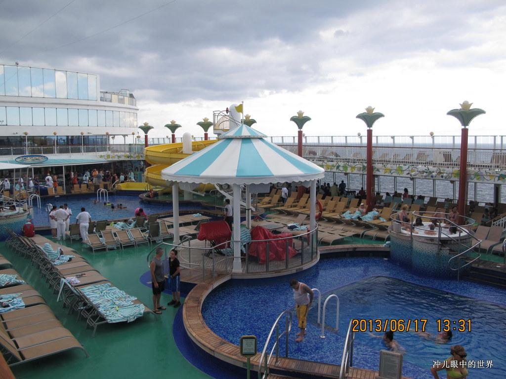 漂浮在海面上的饭店游乐篇_图1-2