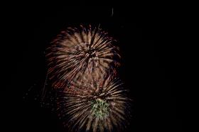 一组在Fire Island拍的烟花,祝大家国庆节