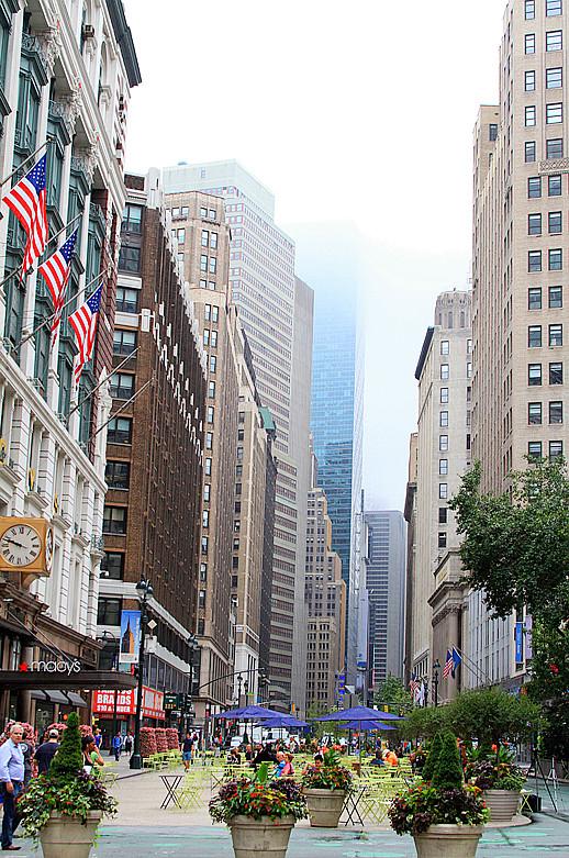 记录我熟悉的城市《曼哈顿》的晨雾_图1-2