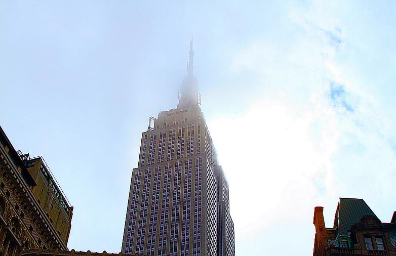 记录我熟悉的城市《曼哈顿》的晨雾_图1-4
