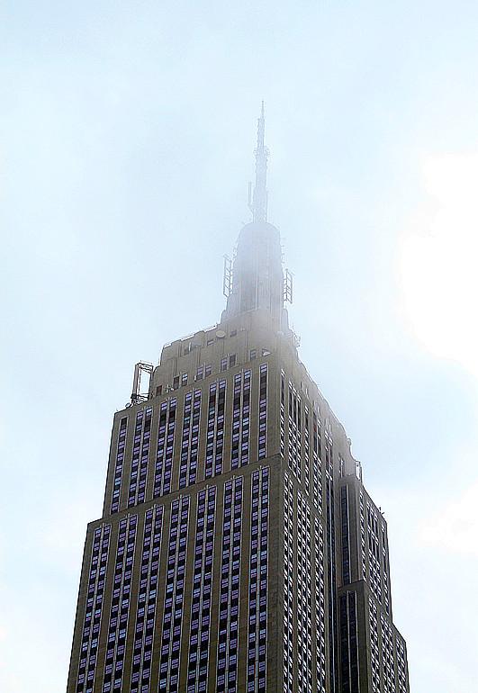 记录我熟悉的城市《曼哈顿》的晨雾_图1-5