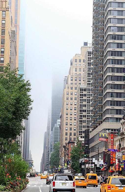 记录我熟悉的城市《曼哈顿》的晨雾_图1-7