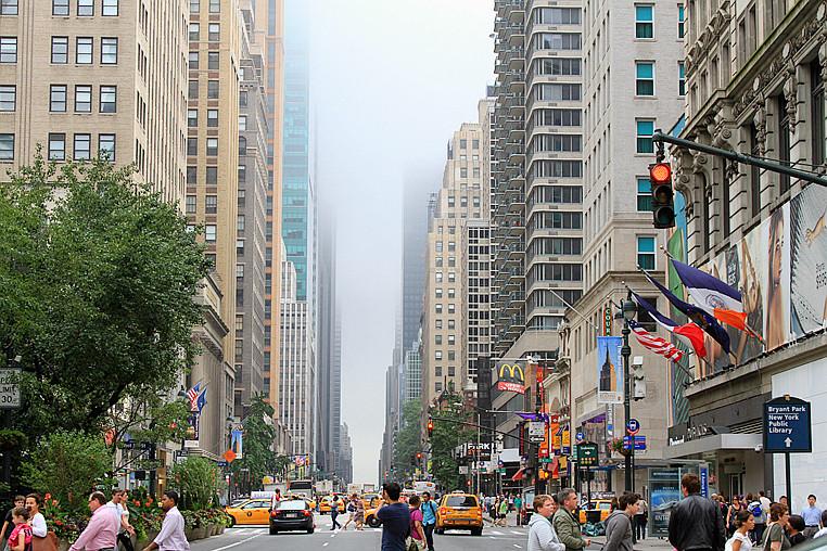 记录我熟悉的城市《曼哈顿》的晨雾_图1-8