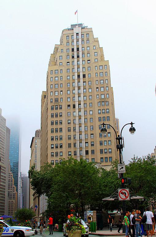 记录我熟悉的城市《曼哈顿》的晨雾_图1-9