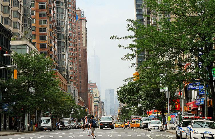 记录我熟悉的城市《曼哈顿》的晨雾_图1-10