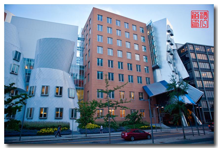 《酒一船原创摄影》:色彩空间入梦流 - MIT 的32号楼_图1-3