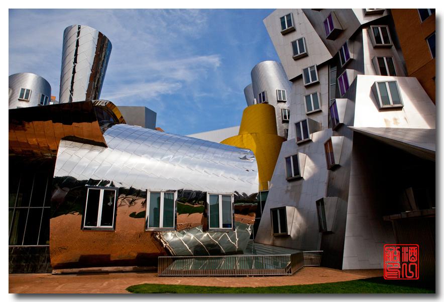 《酒一船原创摄影》:色彩空间入梦流 - MIT 的32号楼_图1-8
