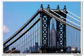 【盲流摄影】走过布鲁克林桥