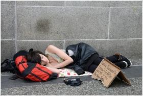 【相机人生】(419)温哥华之旅-美女乞丐