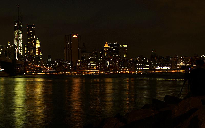 一组《Brooklyn桥夜景灯影》_图1-7