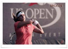 【风】实拍2013美国网球公开赛