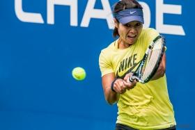 李娜练球 (US  Open 2013)