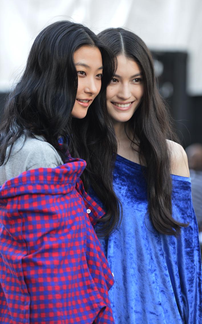 走-拍 纽约时装周纪实  中国美女_图1-1