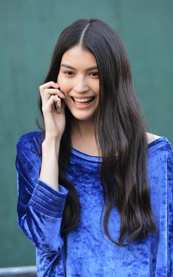 走-拍 纽约时装周纪实  中国美女_图1-2