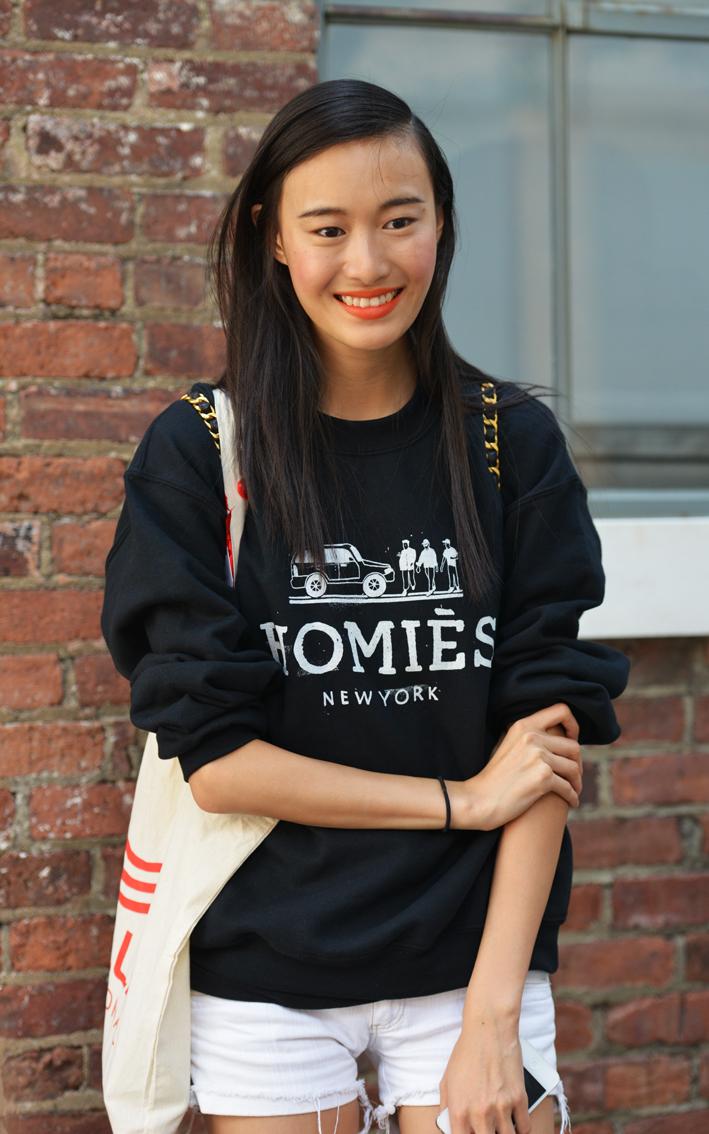 走-拍 纽约时装周纪实  中国美女_图1-7