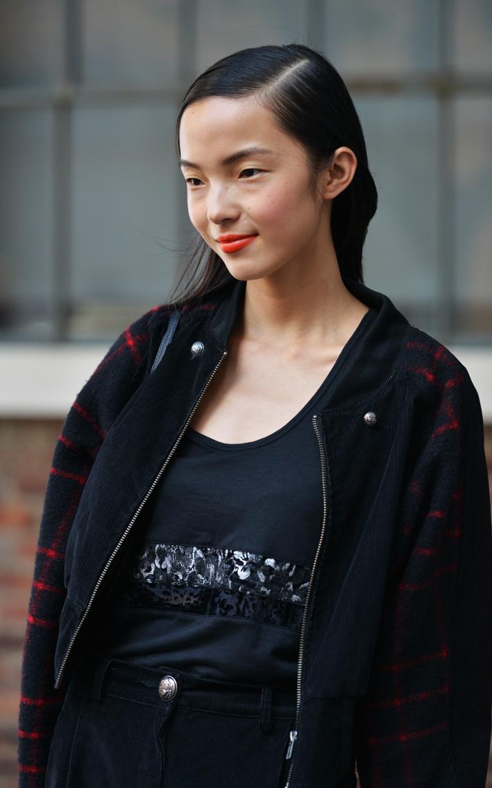 走-拍 纽约时装周纪实  中国美女_图1-10