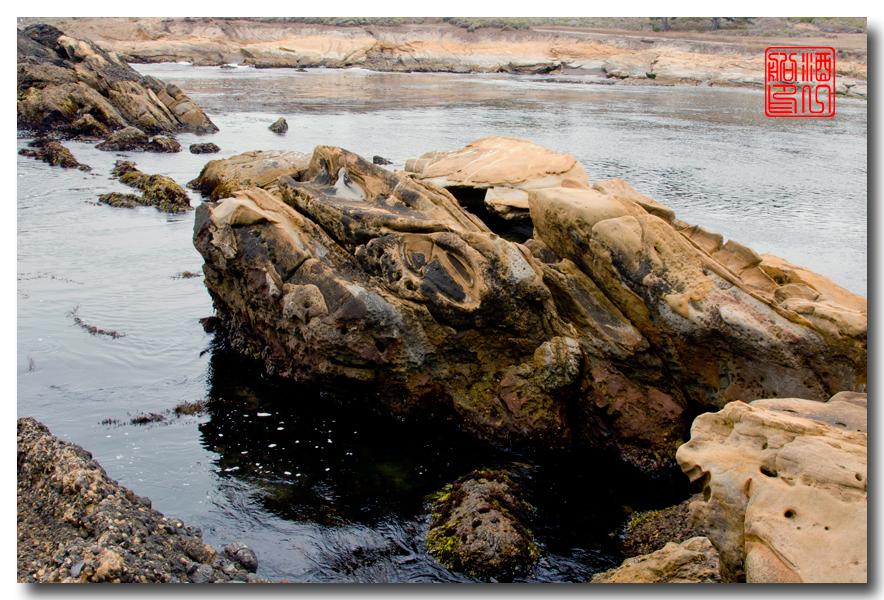 《酒一船》:加州海岸赏奇石_图1-4