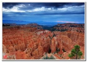 布莱斯峡谷(Bryce canyon) 自驾游之二【心