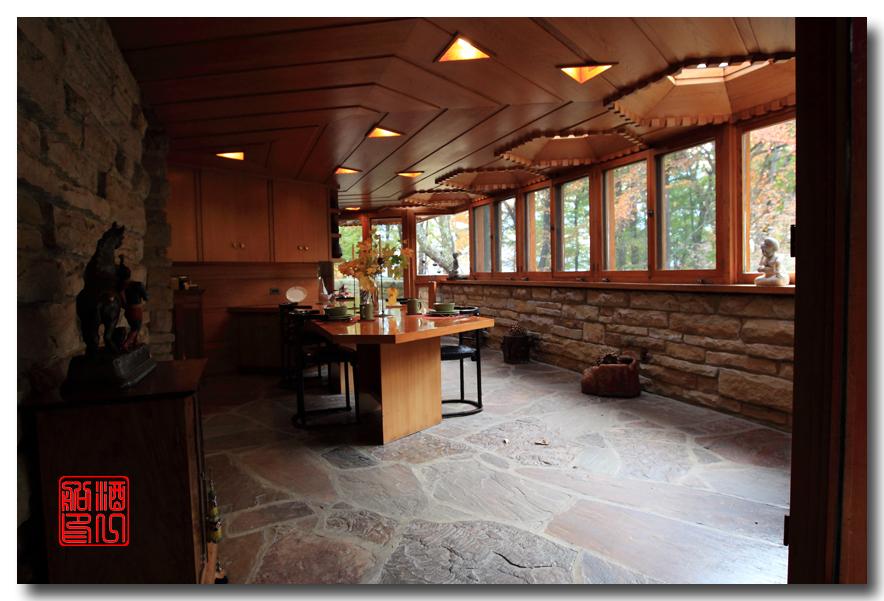 《酒一船》:莱特设计的 Kentuk Knob民居_图1-11