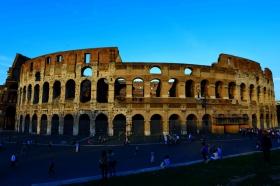 残亘断壁,见证古罗马的辉煌还是败落