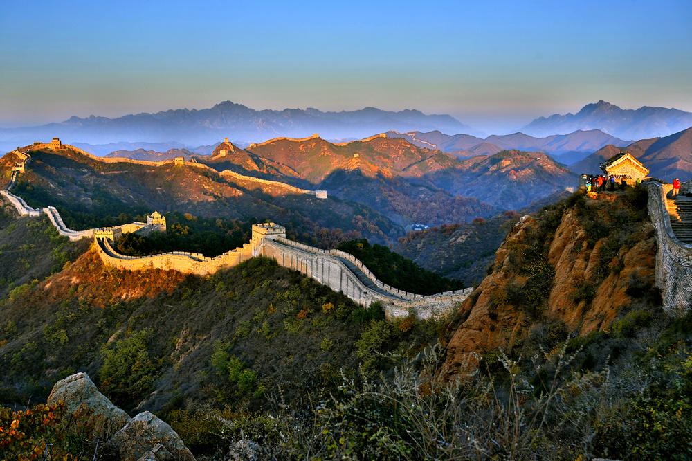 我的中国魂---金山岭长城之秋_图1-2