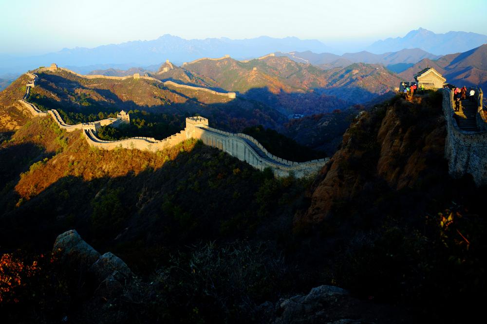 我的中国魂---金山岭长城之秋_图1-4