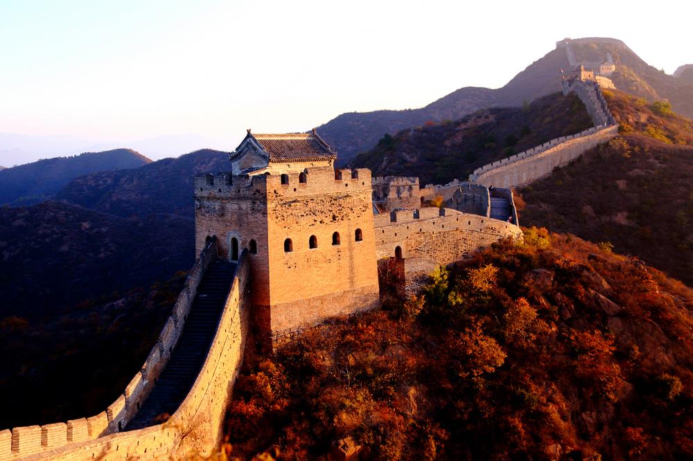 我的中国魂---金山岭长城之秋_图1-3