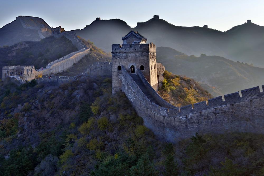 我的中国魂---金山岭长城之秋_图1-1