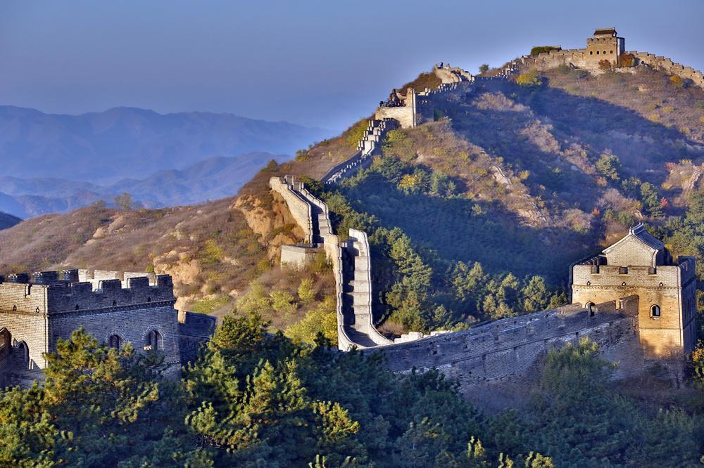 我的中国魂---金山岭长城之秋_图1-6