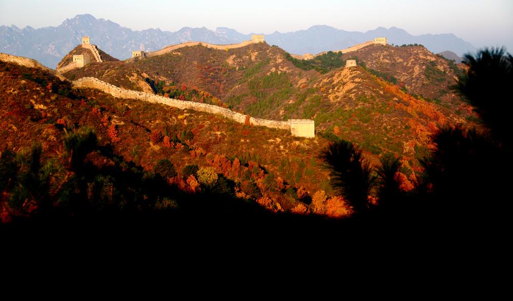 我的中国魂---金山岭长城之秋_图1-8