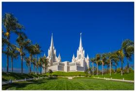 San Diego 的摩门教教堂