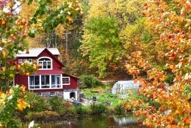 大白山赏枫—New  Hompshire 大白山的秋天