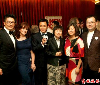 曼哈顿林肯中心人们争看中国明星_图1-5