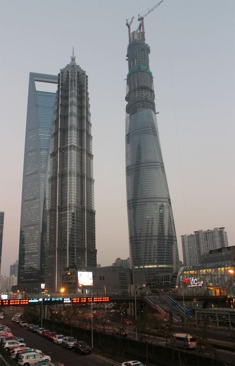 秀秀中国上海的陆家嘴_图1-1