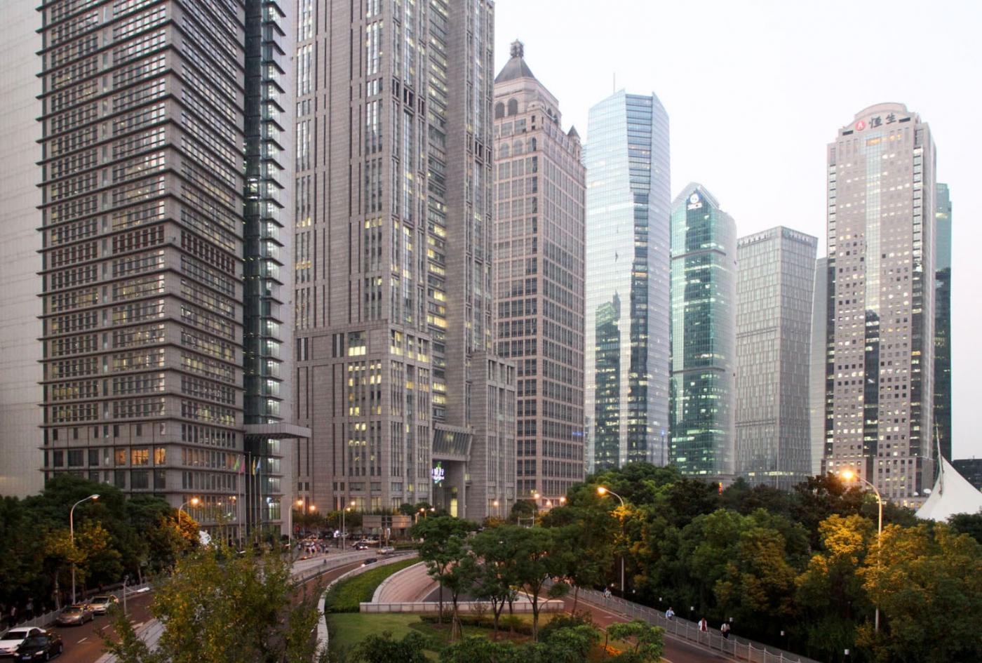 秀秀中国上海的陆家嘴_图1-4