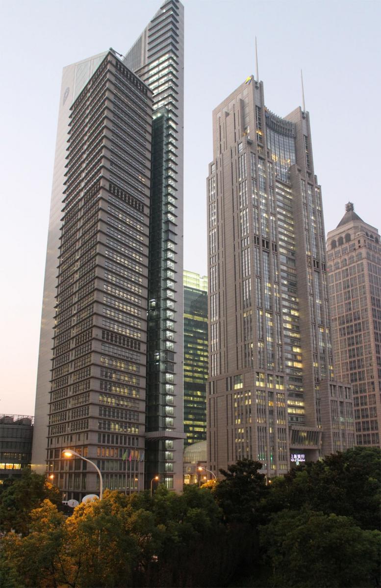 秀秀中国上海的陆家嘴_图1-5