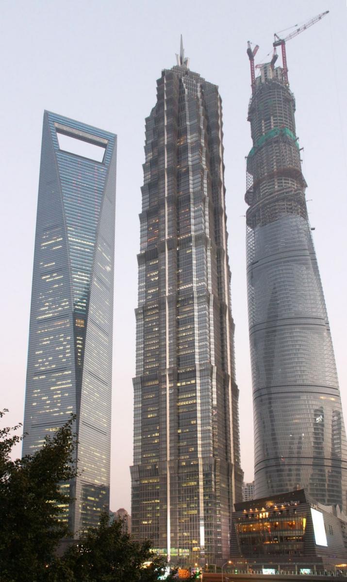 秀秀中国上海的陆家嘴_图1-2