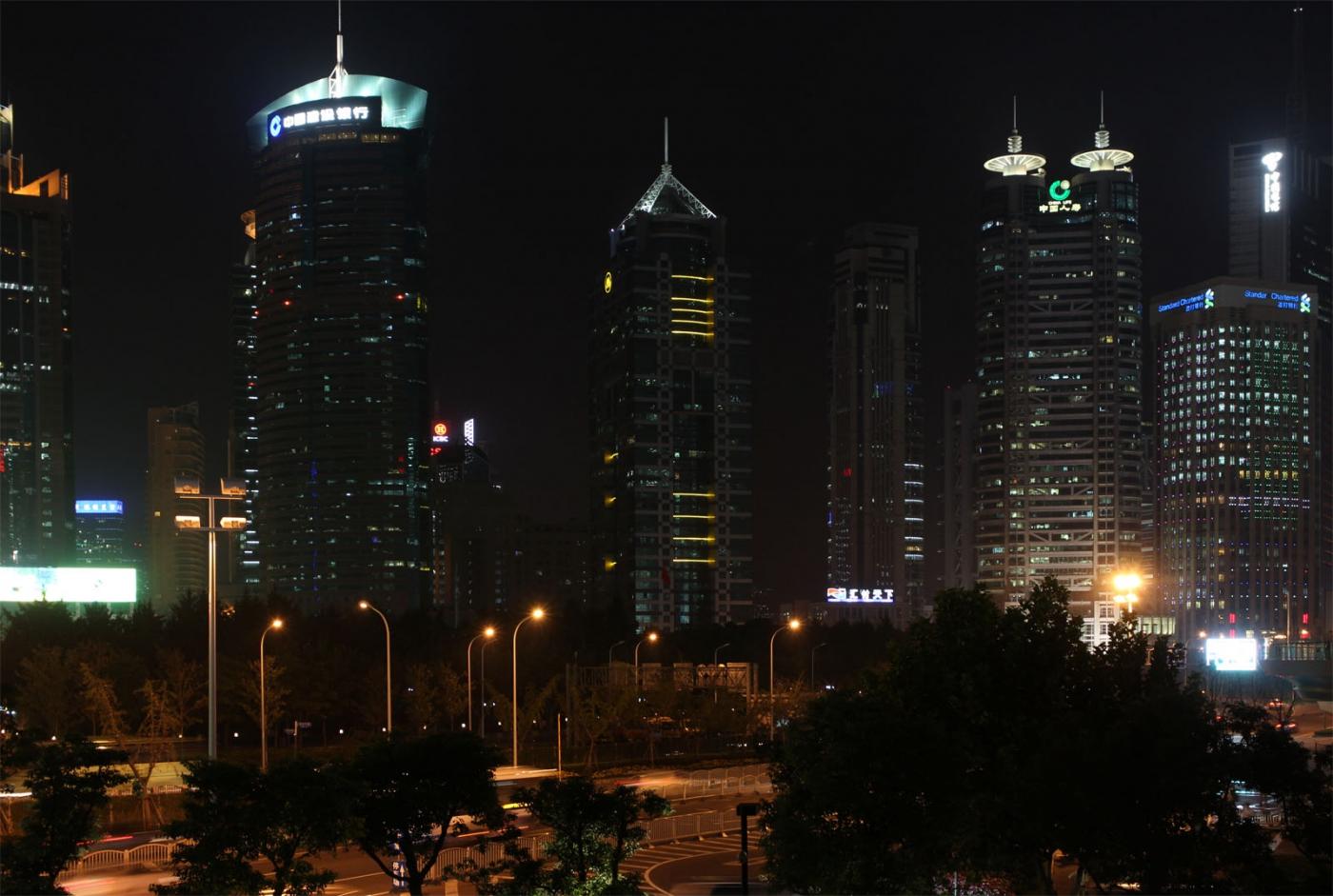 秀秀中国上海的陆家嘴_图1-7