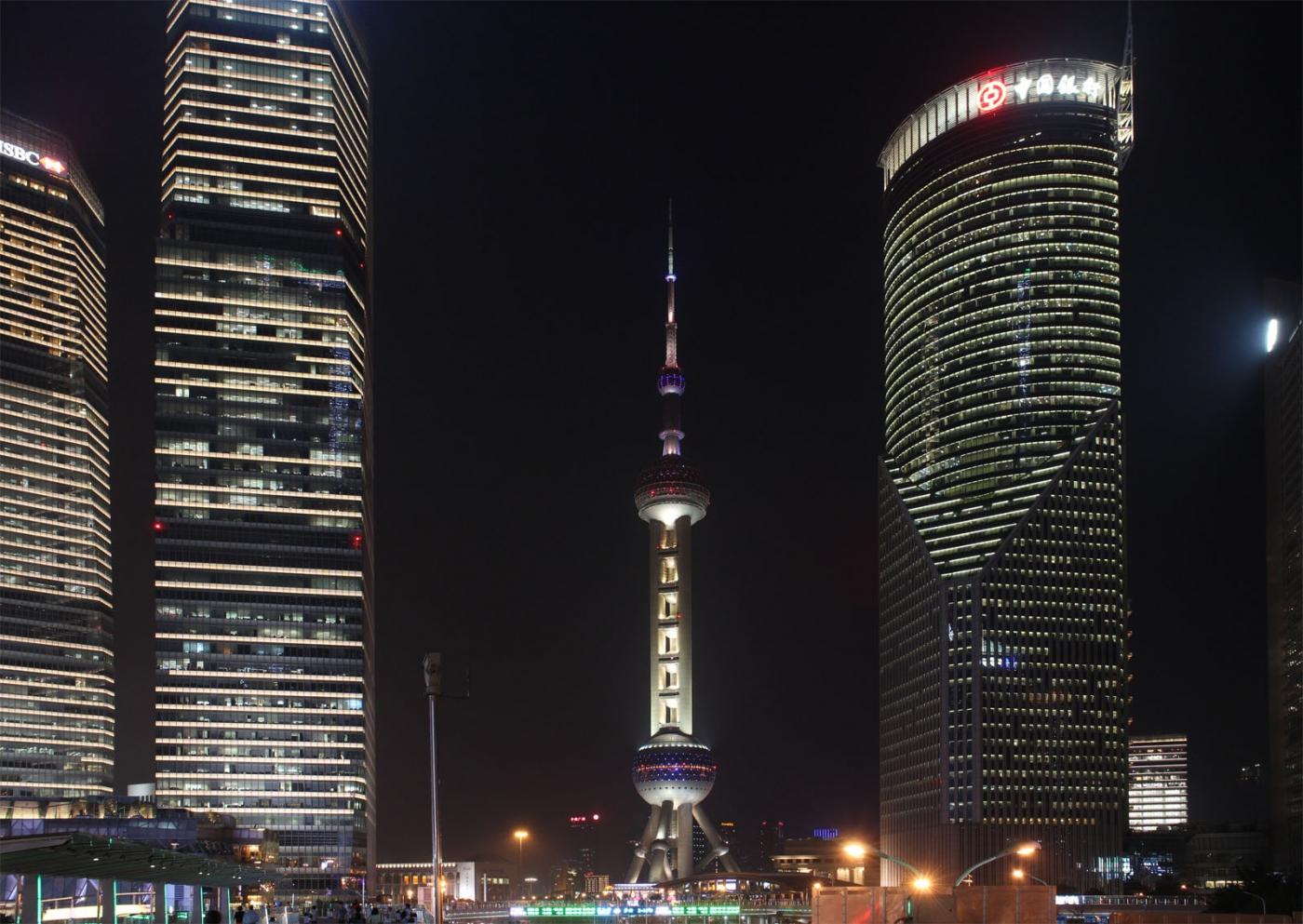 秀秀中国上海的陆家嘴_图1-10