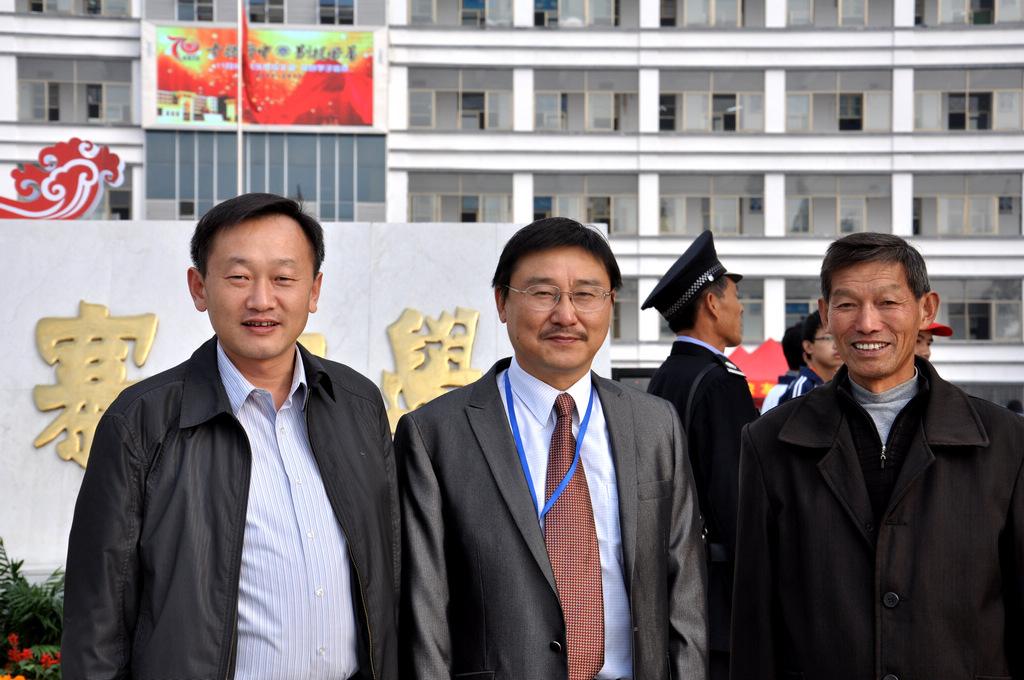 野寨中学举行建校70周年校庆日活动_图1-52
