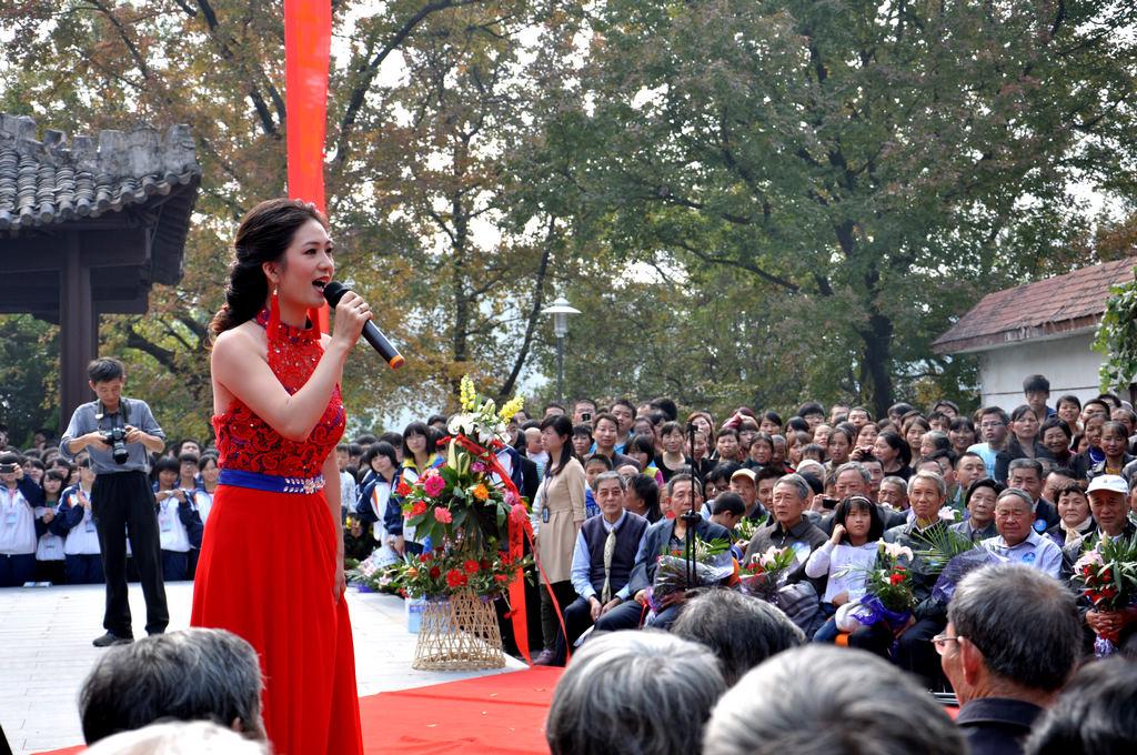 野寨中学举行建校70周年校庆日活动_图1-99