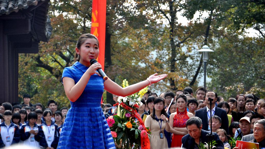 野寨中学举行建校70周年校庆日活动_图1-104