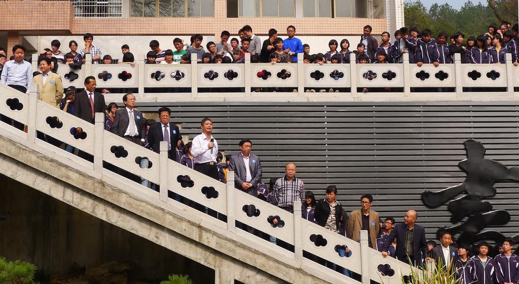 野寨中学举行建校70周年校庆日活动_图1-123