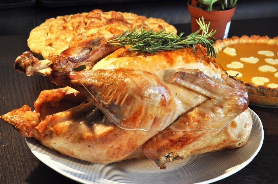 传统美式烤火鸡:四十张图解详细步骤_图1-1