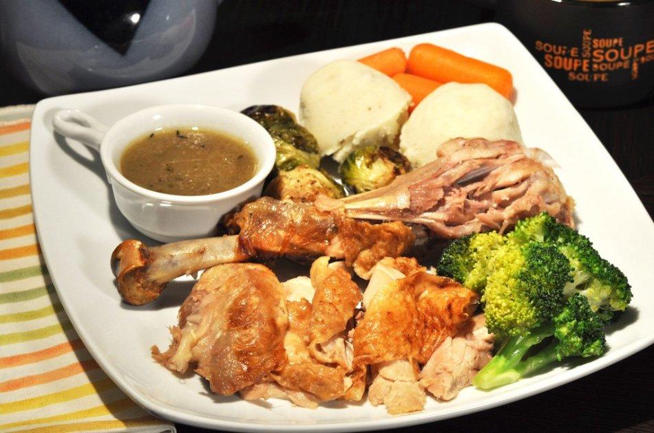传统美式烤火鸡:四十张图解详细步骤_图1-23