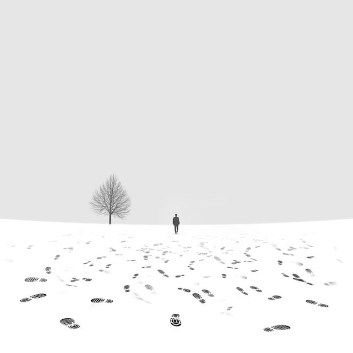 【攝影蟲】極簡主義黑白攝影---Hossein Zare_图1-5