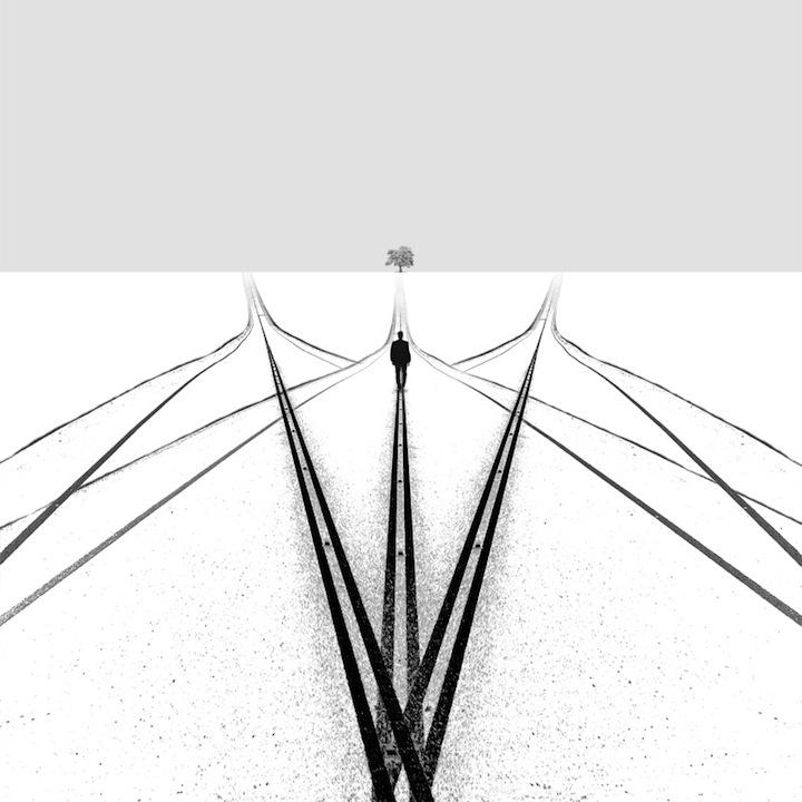 【攝影蟲】極簡主義黑白攝影---Hossein Zare_图1-7